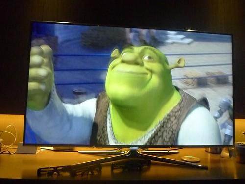 Shrek as seen on Samsung Smart TV
