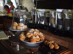 Scone and muffin display, Wimbly Lu Chocolates, 15-2 Jalan Riang