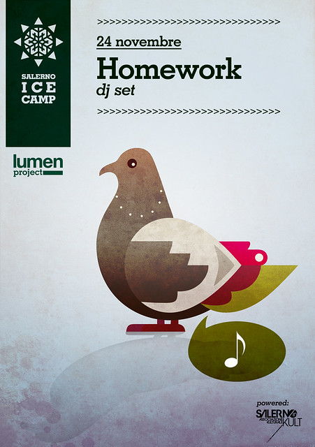 Homework - dj set - 24 novembre (salerno ice camp pista di pattinaggio su ghiaccio)