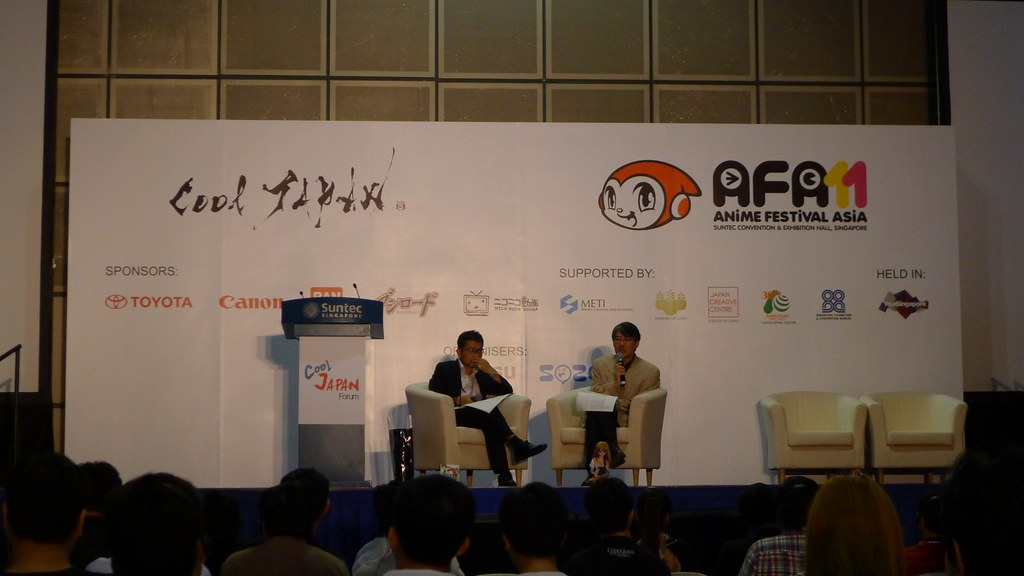 Anime Festival Asia 2011 Cool Japan Forum Event Report