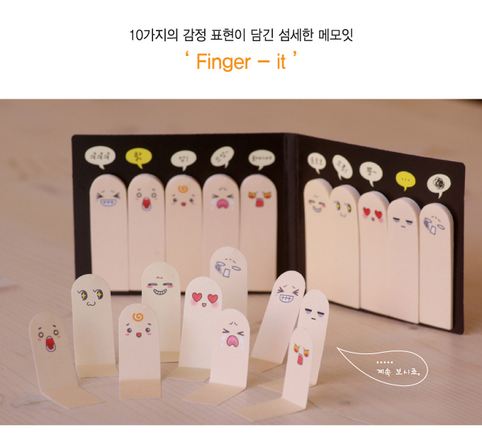 finger postits