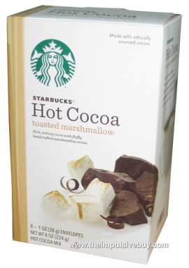 Starbucks Toasted Marshmallow Hot Cocoa