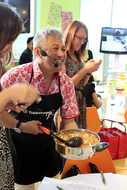Tupperware Party with Chef Wan