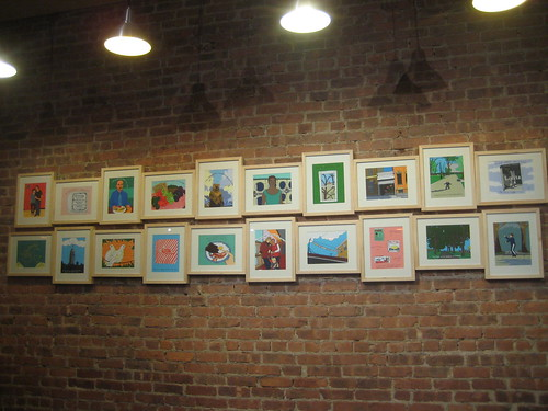 Art Show at Barcey's