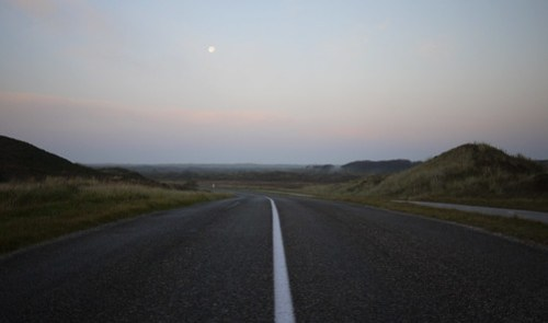 Last moon, first light