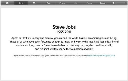 Steve Jobs gestorben