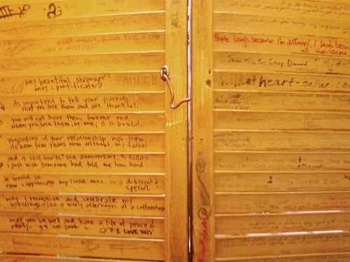 Bathroom Graffiti by Karyn Ellis