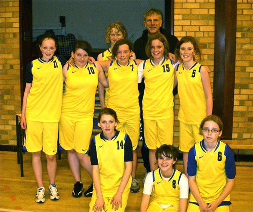 Girls' U14 Basketball Team