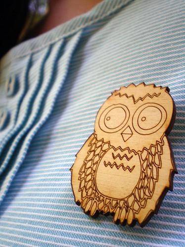 Brooch Owl2