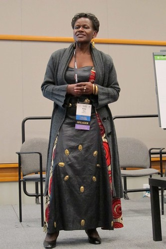 Anne Ikiara at Hopper Conference 2011