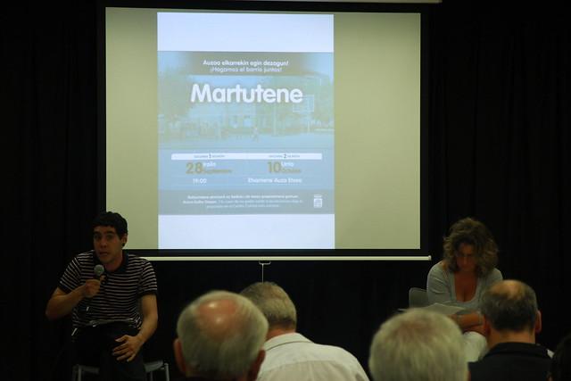 2ª reunión con Ayuntamiento (10 octubre 2011)