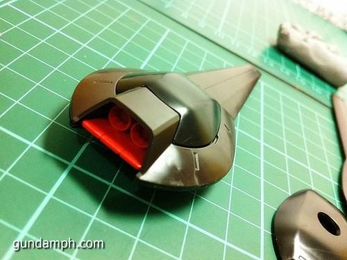 MG Rick Dias Quattro Custom RED Review OOB Build (22)