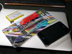 20111009:今更iPhone3GSのバッテリーを交換してみた