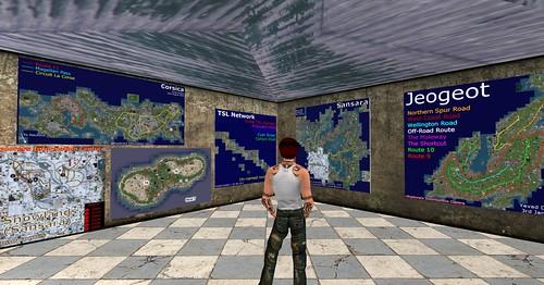 Explorers' Information, interior