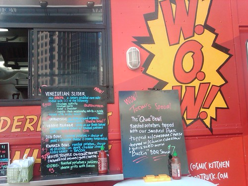 wow food truck menu