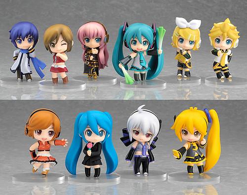 Nendoroid Petit Vocaloid set #01