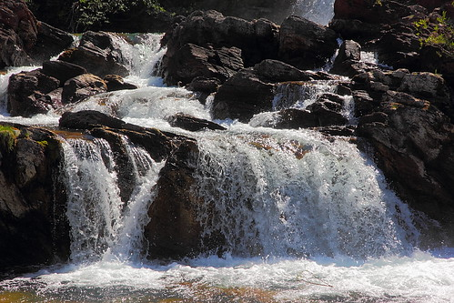 IMG_4601 Red Rock Falls, Glacier National Park by ThorsHammer94539