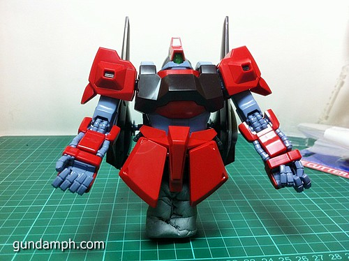 MG Rick Dias Quattro Custom RED Review OOB Build (32)
