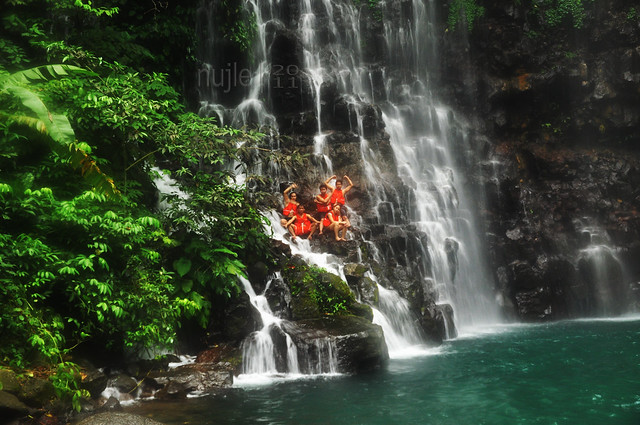 Tinago Falls - Climbing The Falls