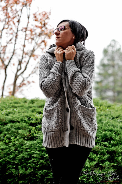 Light Gray Knitted
