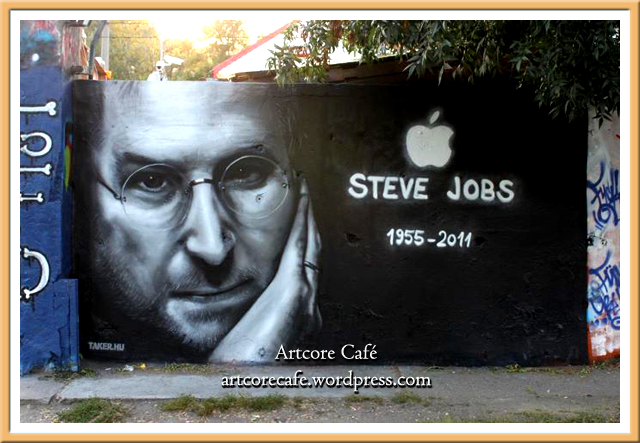 Tribute to Steve Jobs by Taker One