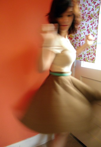 obligatory twirl photo