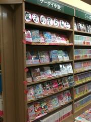 某ショッピングモールのケータイ小説コーナー