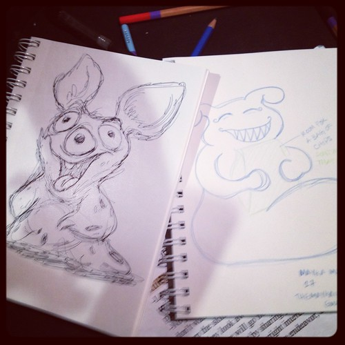 Creaturing for Joshua Margolis