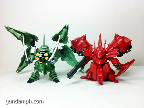 SD Kshatriya Review NZ-666 Unicorn Gundam (58)