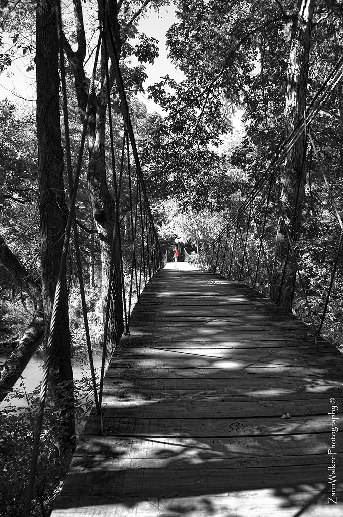 Tishomingo State Park Swinging Bridge 01