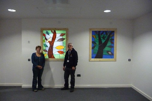 Peter at North Staffs Hospital by Jane Littlefield