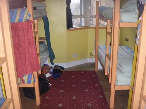 Dónde dormir y alojamiento en Edimburgo (Escocia, Reino Unido) - Royal Mile Backpackers Hostel.