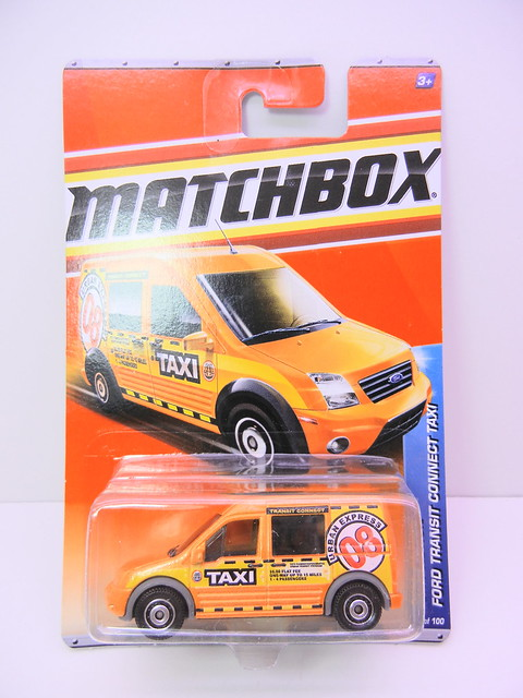 matchbox ford transit connect taxi (1)
