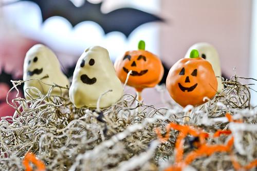 Halloween Cake Pops 2