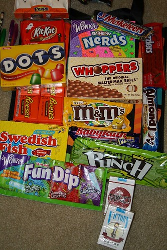 Favorite Halloween Candies