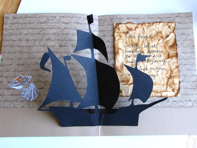 Pirate Ship Encouragement Card
