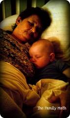 Granny, nap, baby