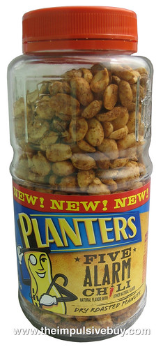 Planters Five Alarm Chili Dry Roasted Peanuts