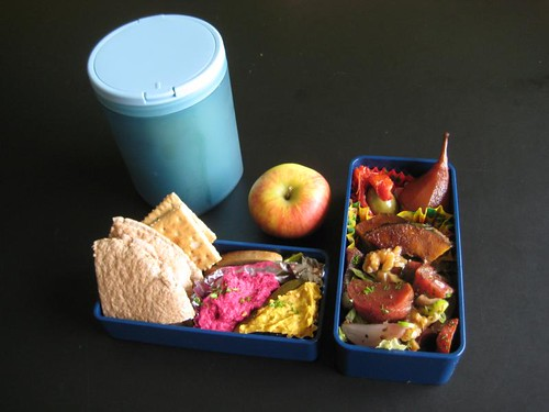 Warm-Blooded Meatless Monday Bento #162