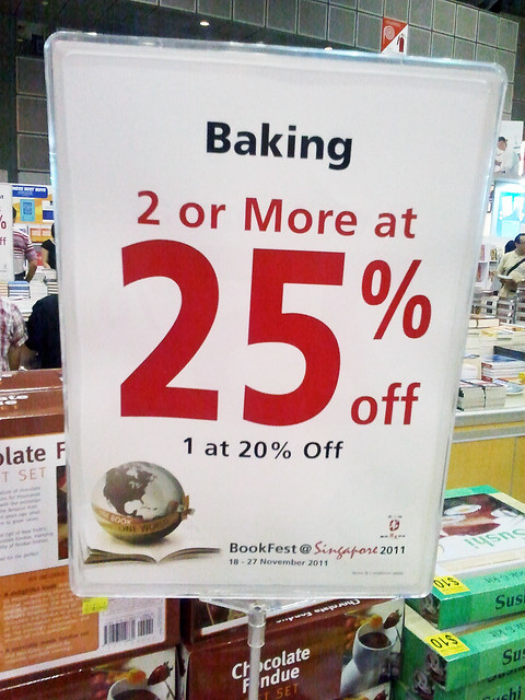 baking discount tag