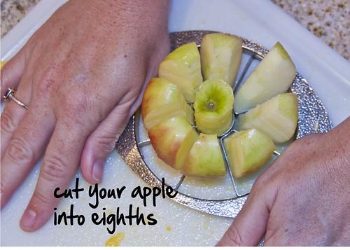 slice your apple