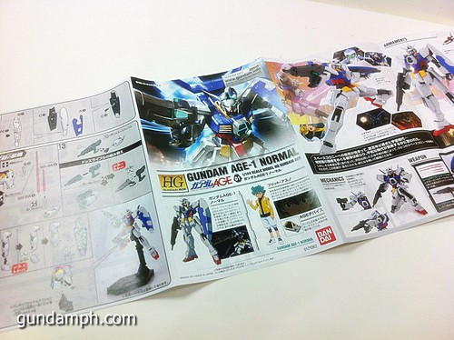 1 144 HG Gundam AGE-1 Normal Review OOB Build  (11)