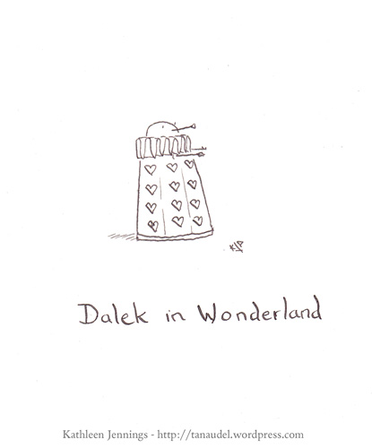 Dalek in Wonderland