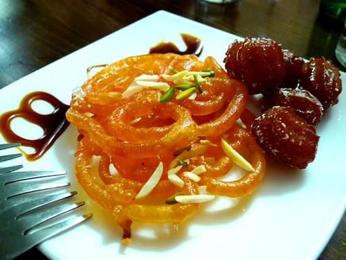 Zulbia & Bamiya Dessest at Persia Restaurant