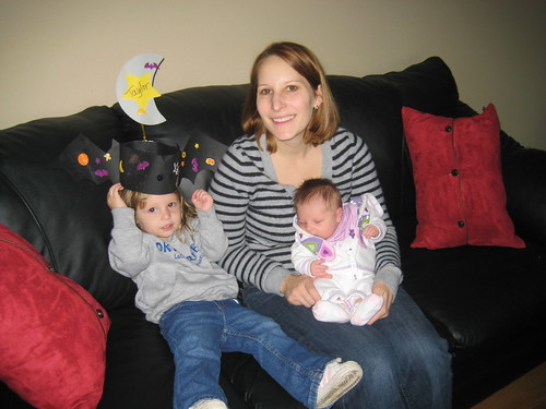 Danielle with her kids