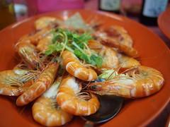Drunken prawns. Ban Leong Wah Hoe Seafood, Casuarina Road, Upper Thomson, SIngapore
