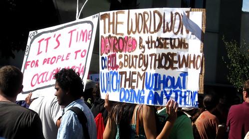 Occupy Berkeley by dyannaanfang