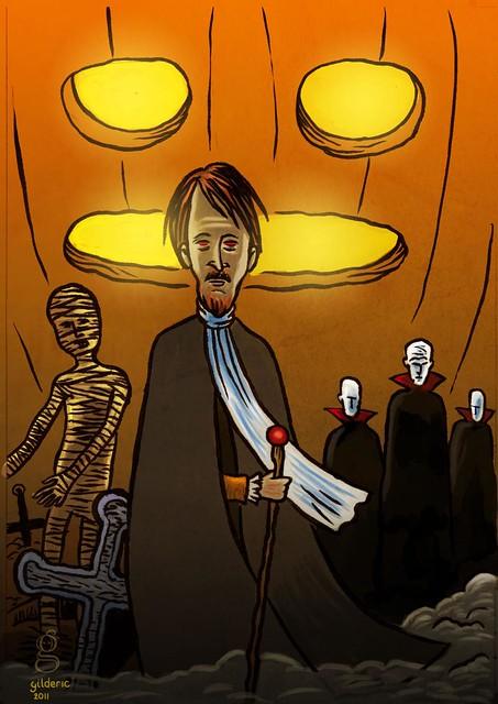 L'esprit d'Halloween - Illustration de Gilderic