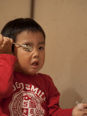 視力検査?