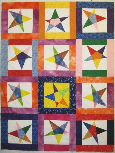 Stars For Linus Quilt Top #2